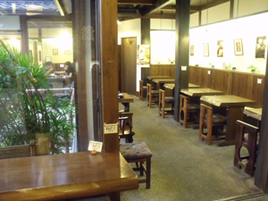 大蔵餅店内