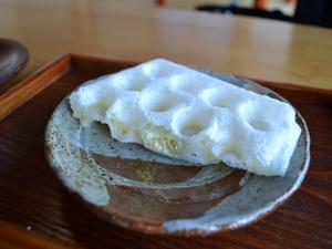 陶芸体験処晴光ホワイトチョコのモッフル